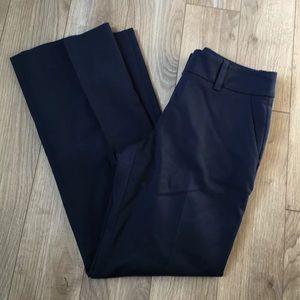 Trina Turk Straight Leg Dress Pants Blue Pants